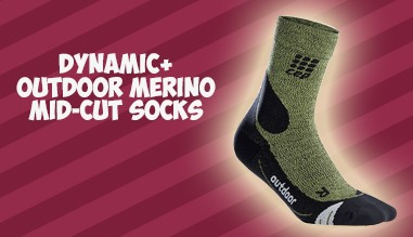Dynamic+ Outdoor Merino Mid-Cut Socks